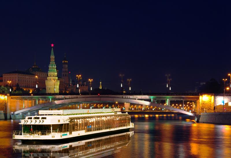 Прогулки на теплоходе по Москве 2