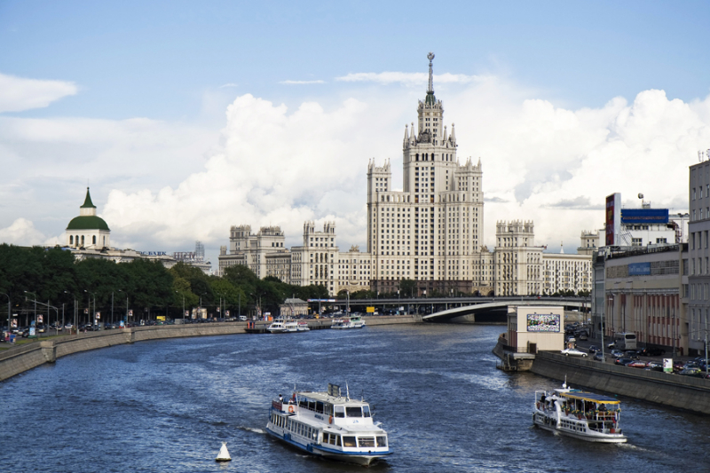 Прогулки на теплоходе по Москве 4
