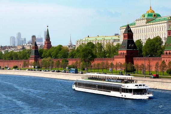 Прогулки на теплоходе по Москве 5