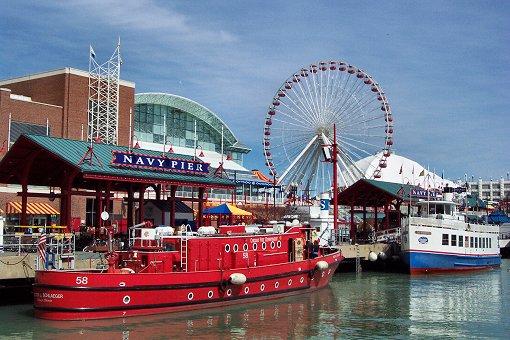 Ferris Wheel в Чикаго 2