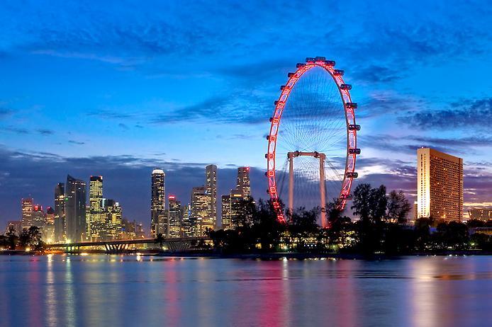 Singapore Flyer в Сингапуре 2