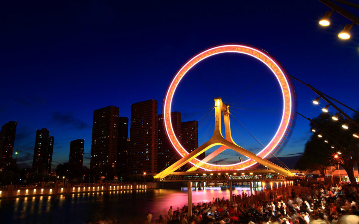Tianjin Eye (Глаз Тяньцзиня)