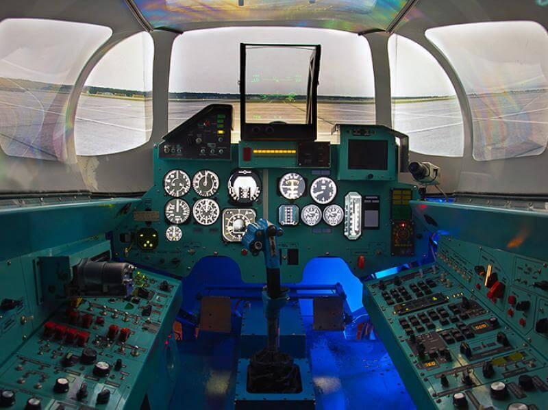 Подарок управление самолетом тренажер 98