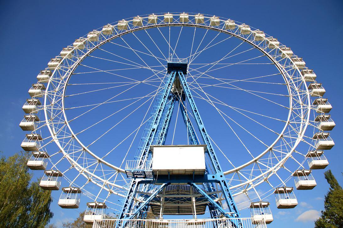 Самое большое колесо картинка