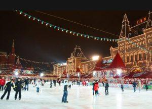 Каток на Красной площади «ГУМ» (сезон 2019-2020)