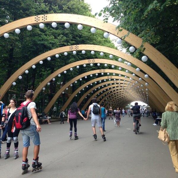 Аттракционы в Москве 2017 Измайловский парк Сокольники