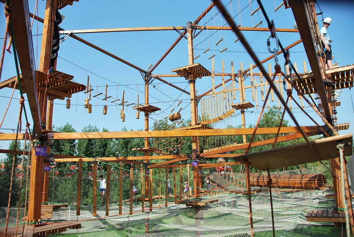 Веревочные парки в Москве и МО — лучшее