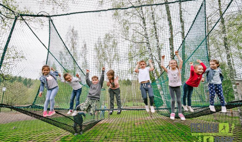 Пешки парк - отдых для спортивных семей